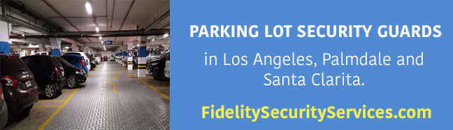 parking lot security guards in los angeles